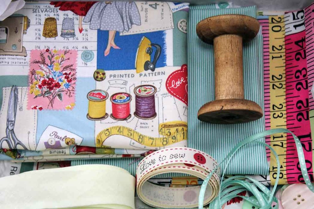 Standard Monthly Fabric Subscription Box Sewing
