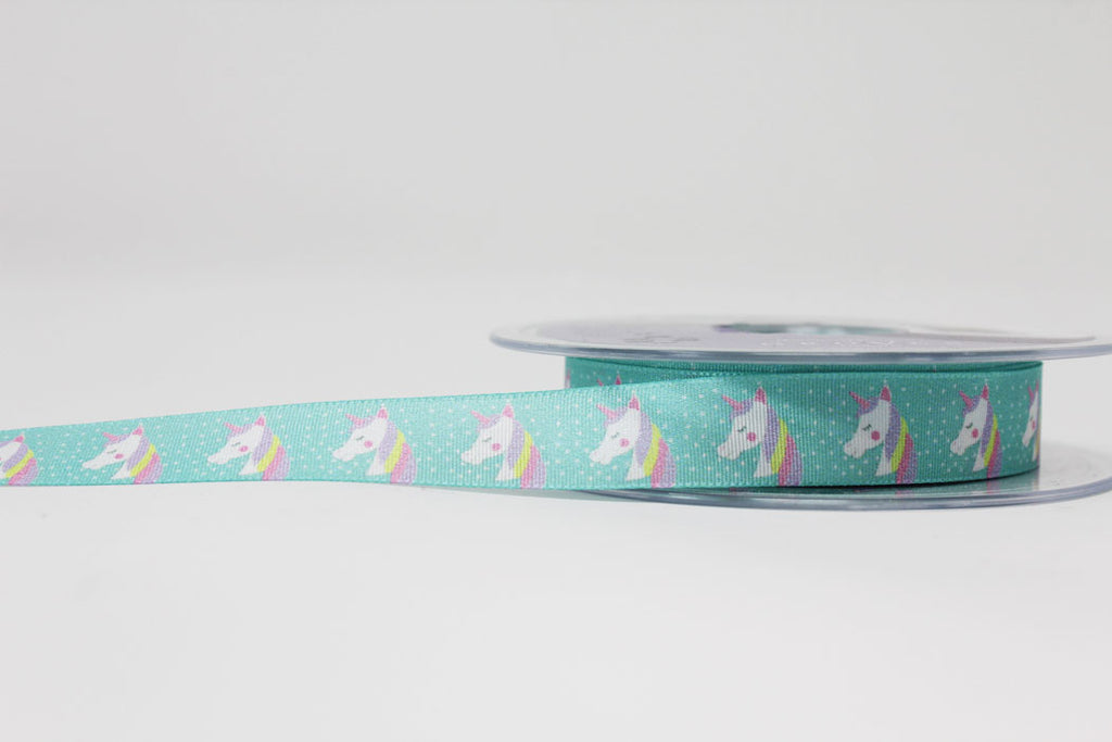 15mm Starry Unicorn Ribbon