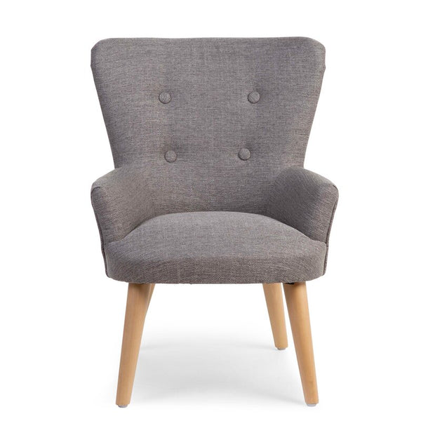 Child Button Back Armchair