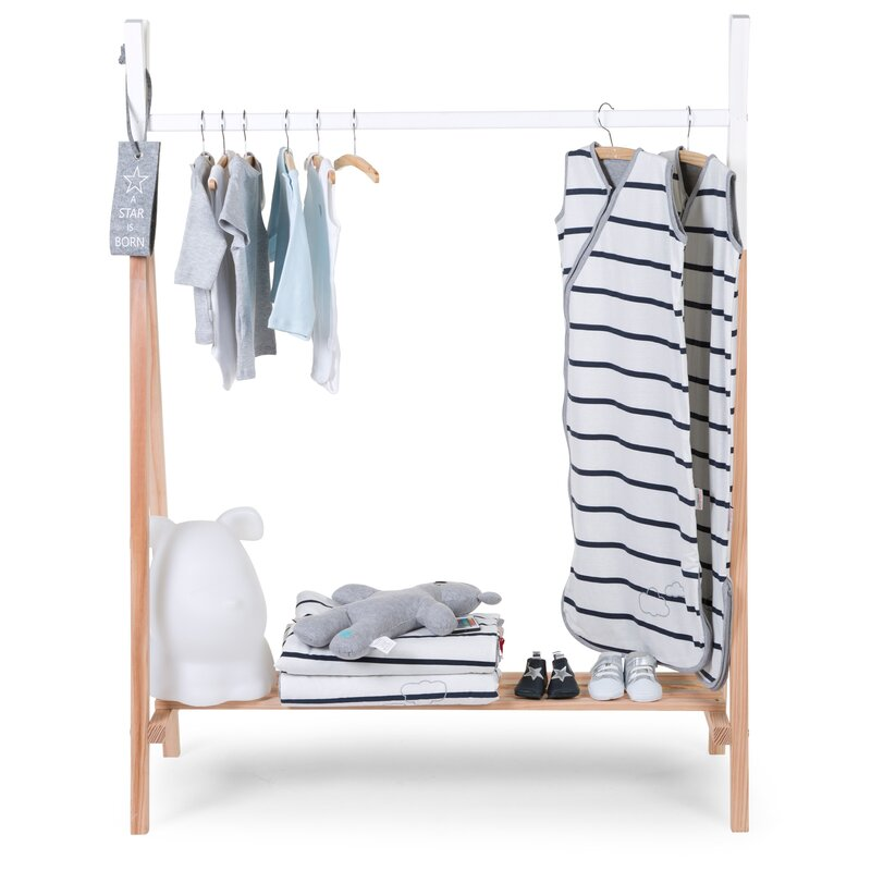 Tipi Clothes Rail with Tipi Shelves