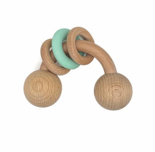 Zelda Wooden Rattle