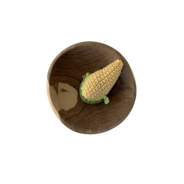 Knitted Corn Rattle