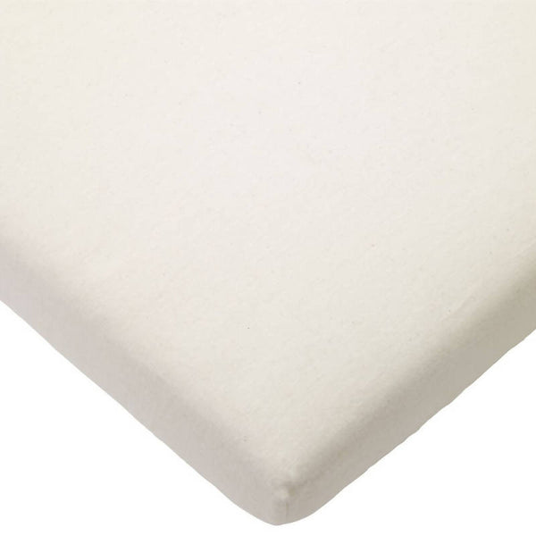 Organic Brushed Cotton Fitted Sheet