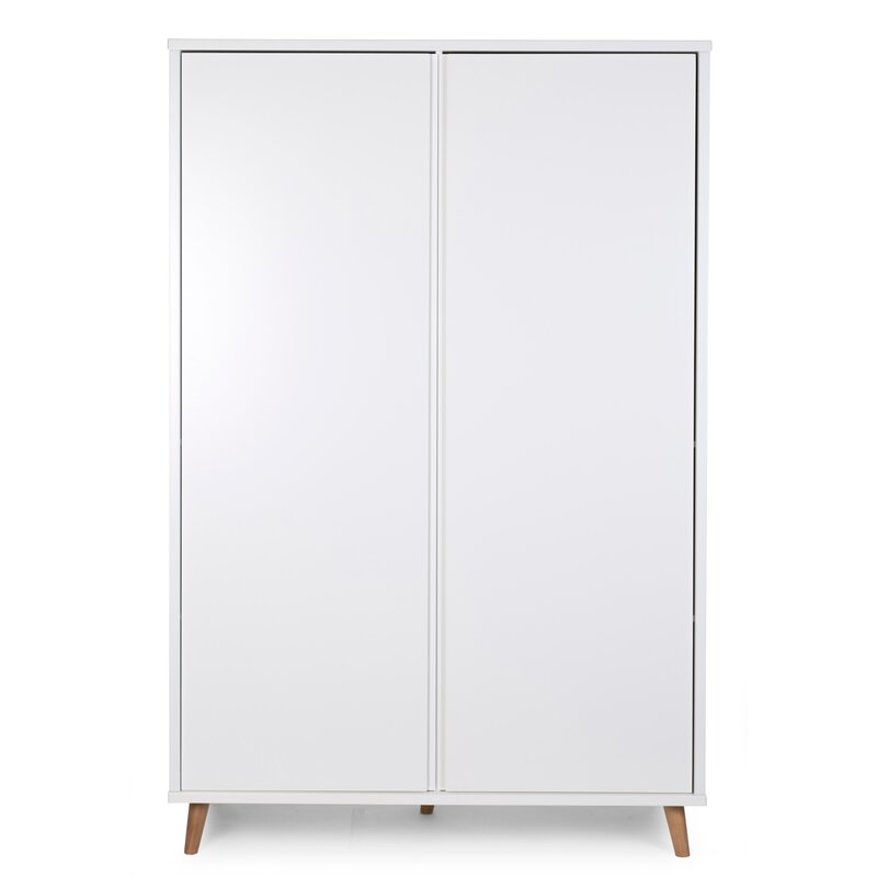 Retro White Wardrobe