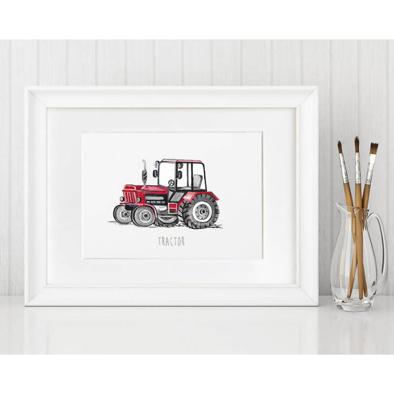 Tractor Print