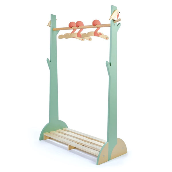 Forest Clothes Rail with Three Squirrel Hangers