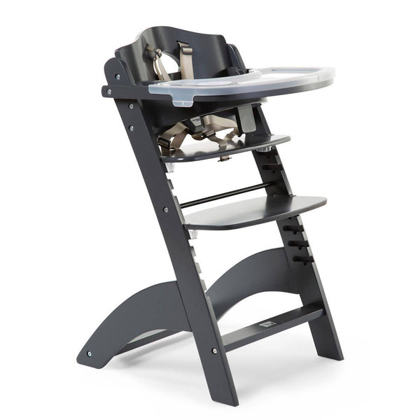 Lambda 3 High Chair with Tray - Anthracite