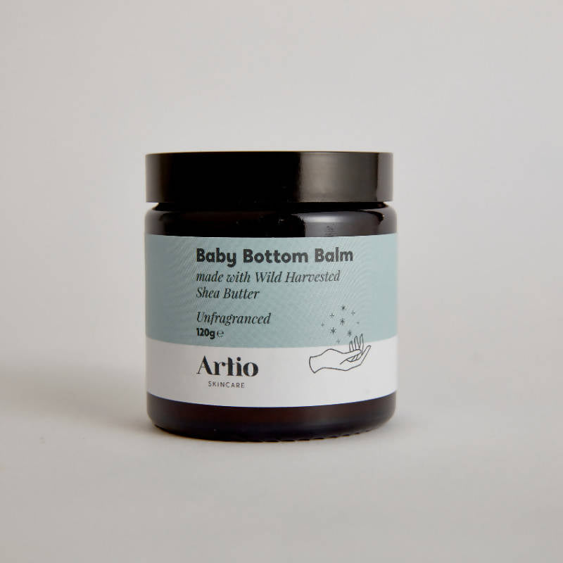 Baby bottom balm unfragranced with shea butter