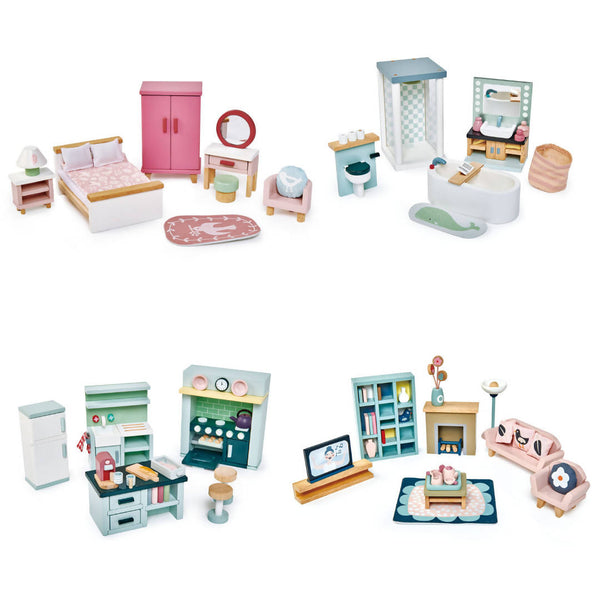 Complete Doll's House Furniture Set