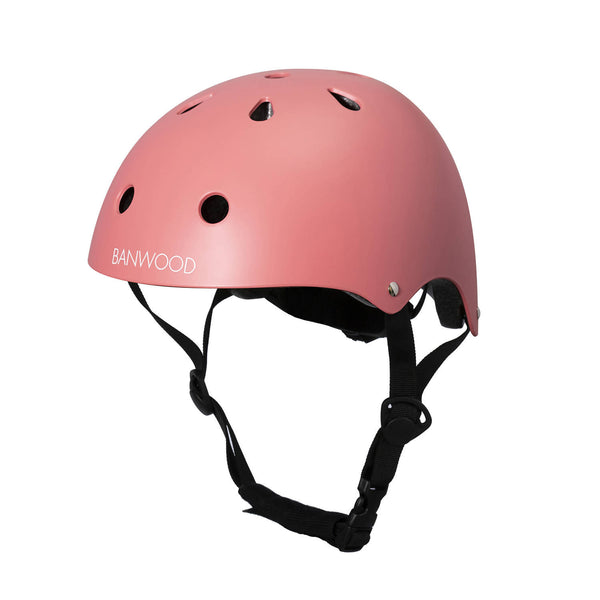 Banwood bike helmet in Coral