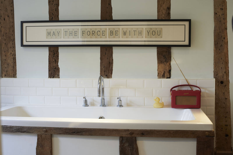 May The Force Be With You Playing Card Frame