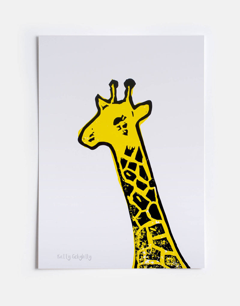 Beautiful and Bold Giraffe Print