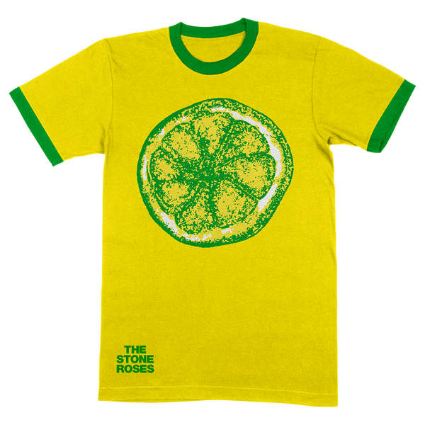 LEMON RINGER T-SHIRT YELLOW / GREEN