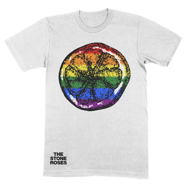 RAINBOW LEMON T-SHIRT WHITE