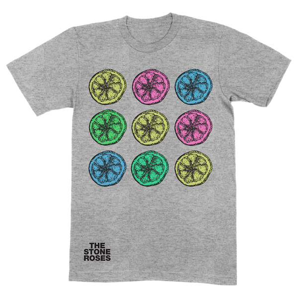 NINE LEMONS T-SHIRT GREY