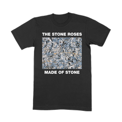 MADE OF STONE BLACK T-SHIRT