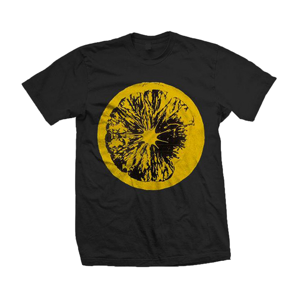 LEMON BLACK T-SHIRT