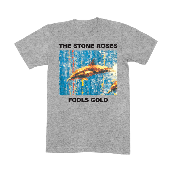 FOOLS GOLD GREY T-SHIRT