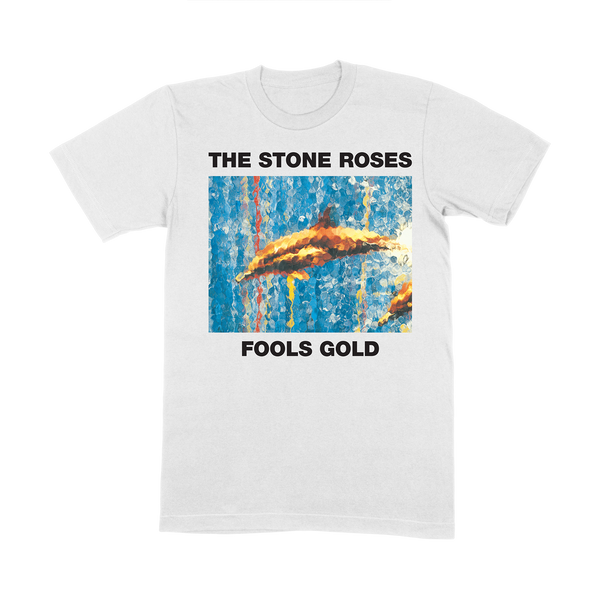 FOOLS GOLD WHITE T-SHIRT