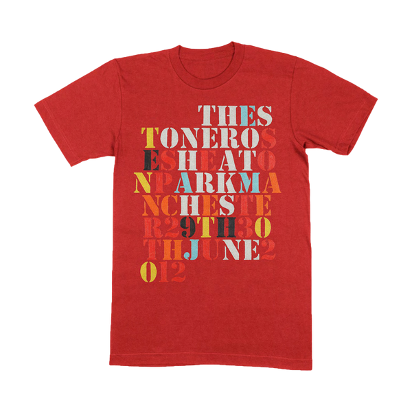HEATON PARK T-SHIRT RED