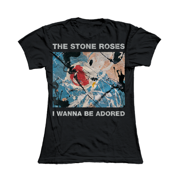 I WANNA BE ADORED BLACK T-SHIRT