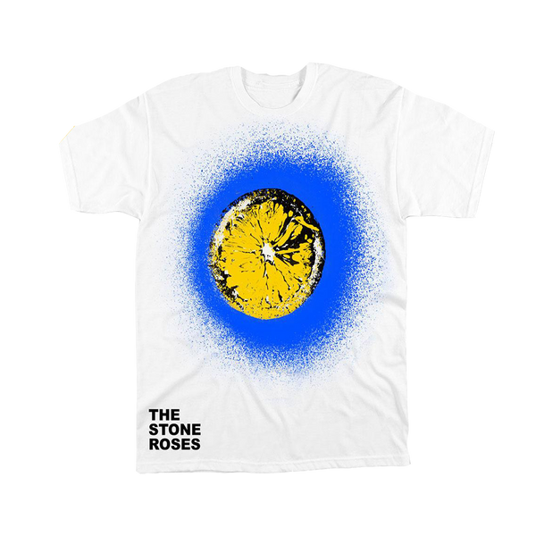 LEMON BLUE SPRAY T-SHIRT