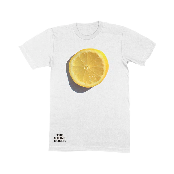 LEMON AND LOGO T-SHIRT WHITE