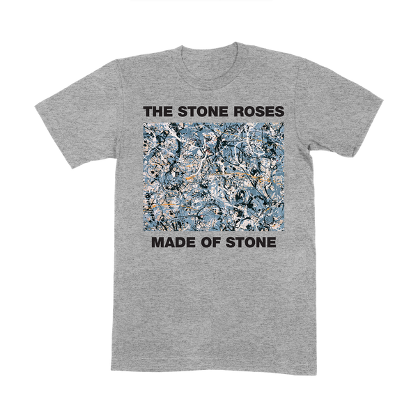MADE OF STONE GREY T-SHIRT