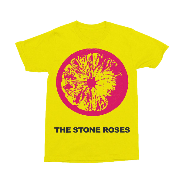 PINK LEMON YELLOW T-SHIRT