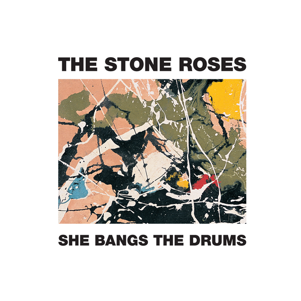 "SHE BANGS THE DRUMS 12""  PRINT"