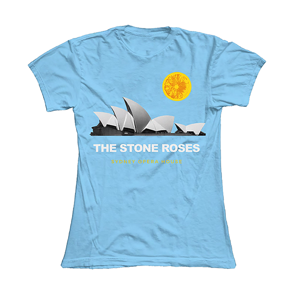 SYDNEY OPERA HOUSE LIGHT BLUE T SHIRT