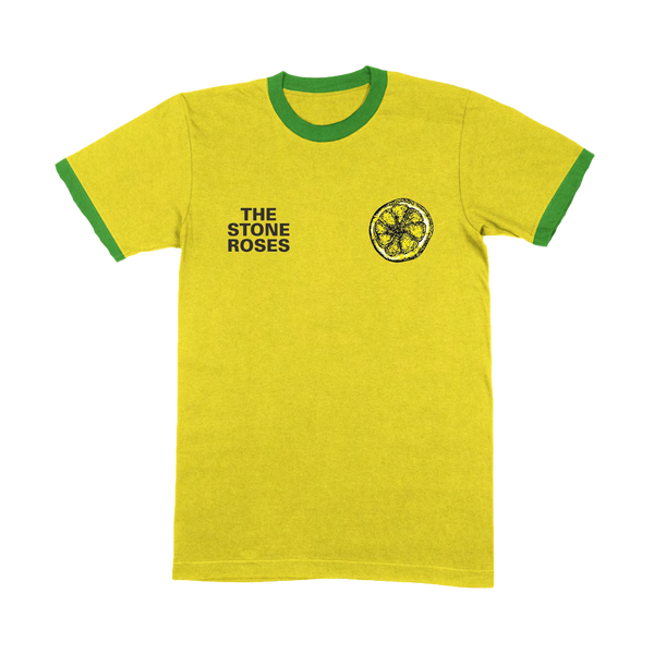 BRAZIL RINGER T-SHIRT YELLOW / GREEN