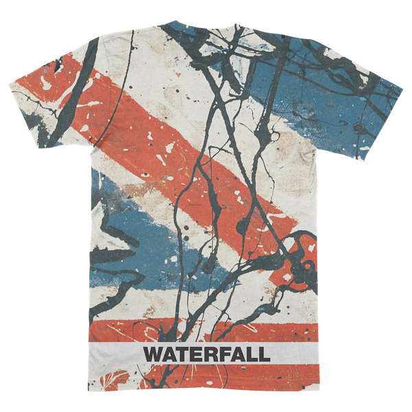 WATERFALL ALL OVER T-SHIRT