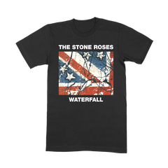 WATERFALL BLACK T-SHIRT