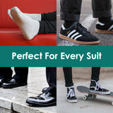 Men's Cotton Ankle Socks -Low Cut Comfortable Breathable Socks,6 Pack - Vihir