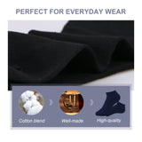 No Show Socks for Men & Women -Invisible Athletic Low Cut Socks - 12 Pair Per Pack - Stay Comfy and Discreet - Vihir