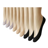 Women's No Show Liner Socks- No Show Ultra Low Socks Women for Flats High Heels, 9 Pack - Vihir
