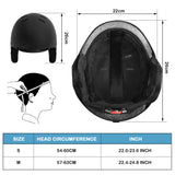 Vihir Adult Winter Ski Helmet Snow Helmet Snowboard Helmet 2-in-1 Convertible Sports Skateboard Helmet for Men Women Youth - Vihir