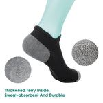 Anti-Blister Running Socks -Track Socks Women Men For Marathon Runners, No Show Low Cut Sweat Resistant Socks - Vihir