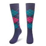Compression Socks for Women & Men Calf Sports Support Stockings Air Travel, Running, Cycling, Jogging, 1/3/7 Pair - Vihir