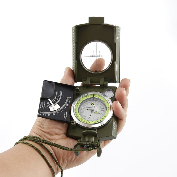 Professional Metal Waterproof 50mm Dial Multifunction Military Compass