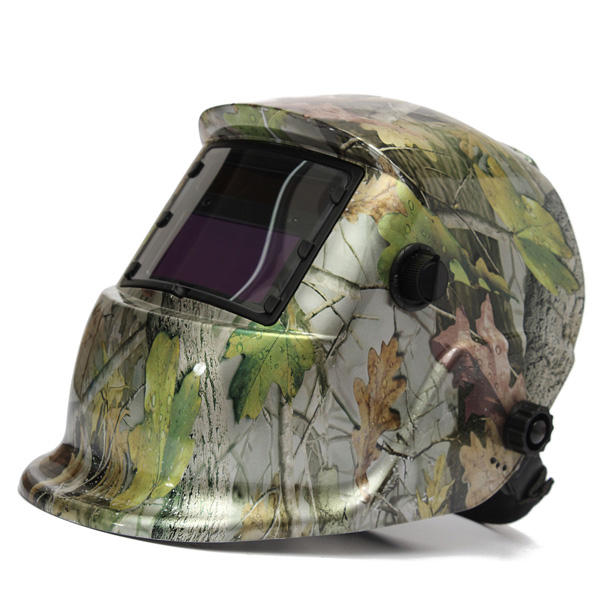 solar power welding helmet