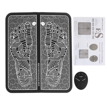 PressurePointers™ Foot Reflexology Electric Massager Mat