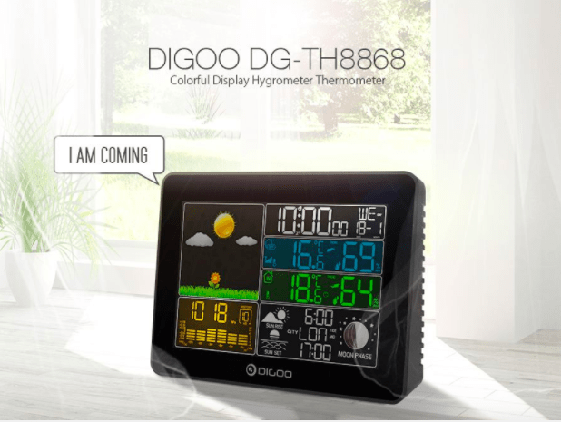 DIGOO ™ Home Wireless Weather Station Pressure Barometer
