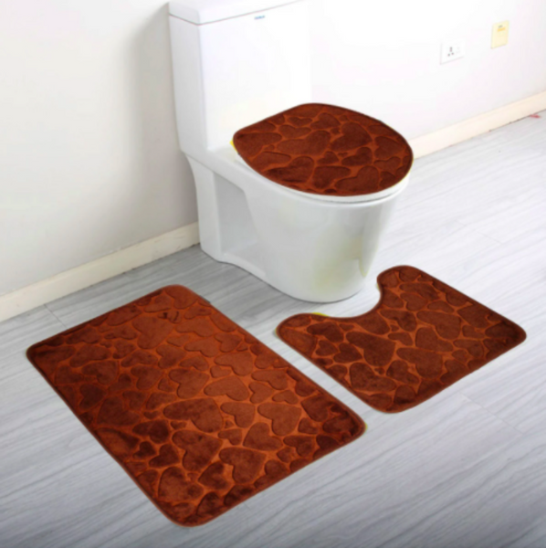 Bathroom carpet rug