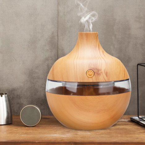 OilTherapy™ Electric Essential Oil Diffuser for Aromatherapy and Sleep