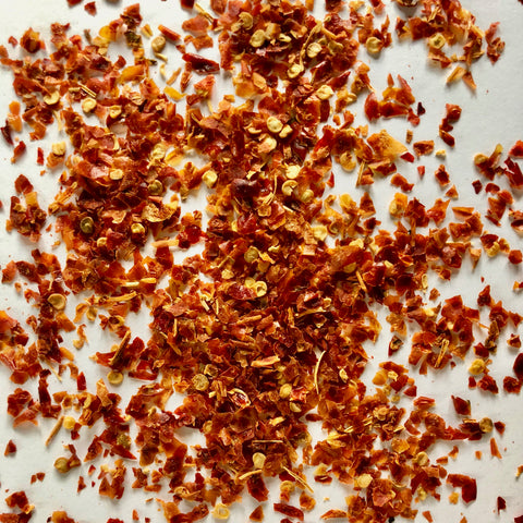 DRIED FERMENTED FISH PEPPER FLAKES