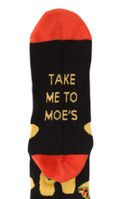Load image into Gallery viewer, Take Me To Moe's Socks