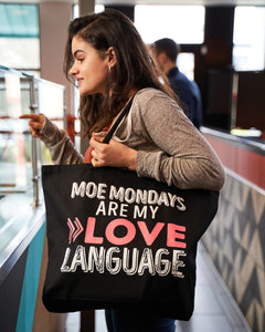 Moe's Love Language Tote