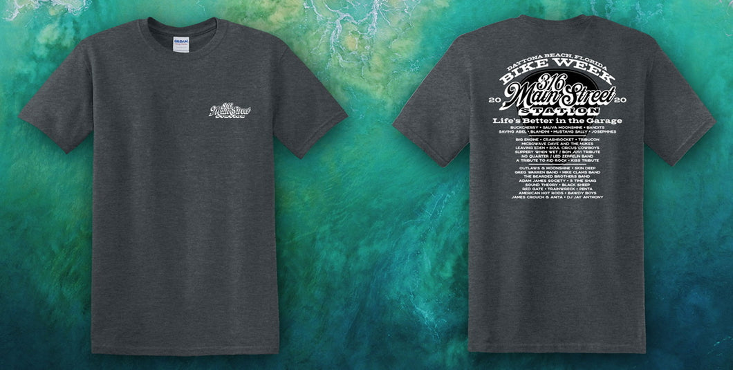 Bike Week 2020 Event Shirt with Bands